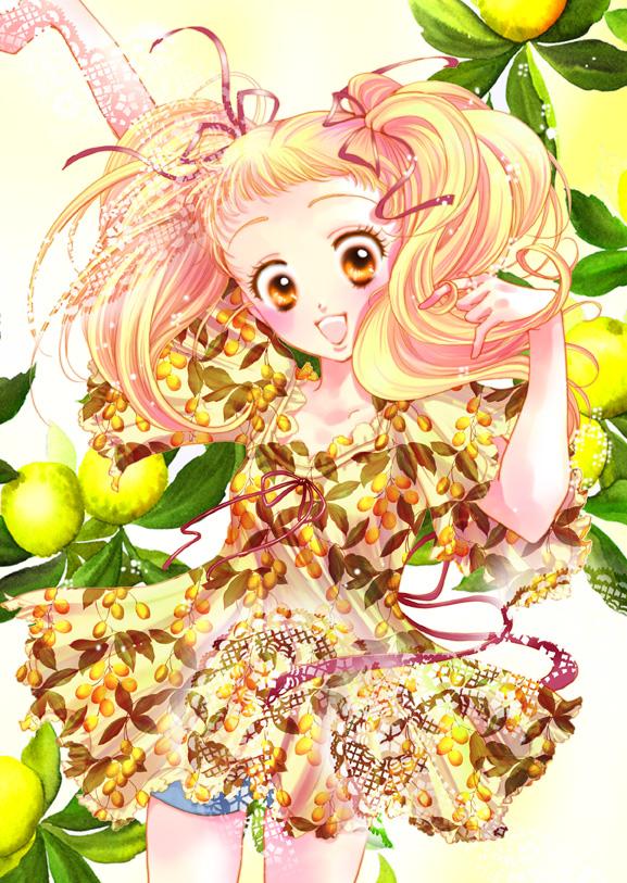 Tags: Anime, K-zima, Yes! Precure 5, Kasugano Urara, Lemon, Pixiv, Fanart From Pixiv, Fanart