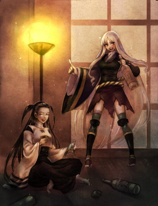 Tags: Anime, Katanagatari, Tsuruga Meisai, Togame, Sword Story