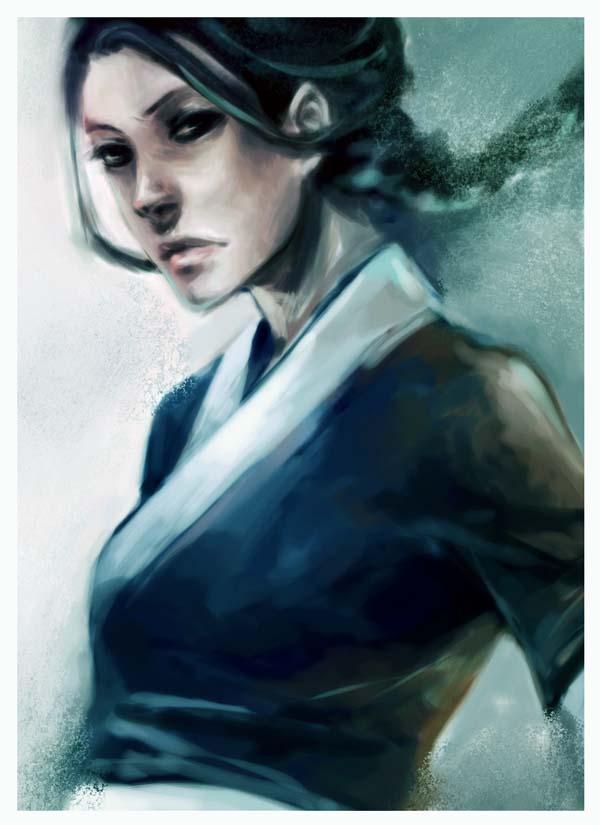 Tags: Anime, Chocosweet, Avatar: The Last Airbender, Katara, deviantART, Mobile Wallpaper