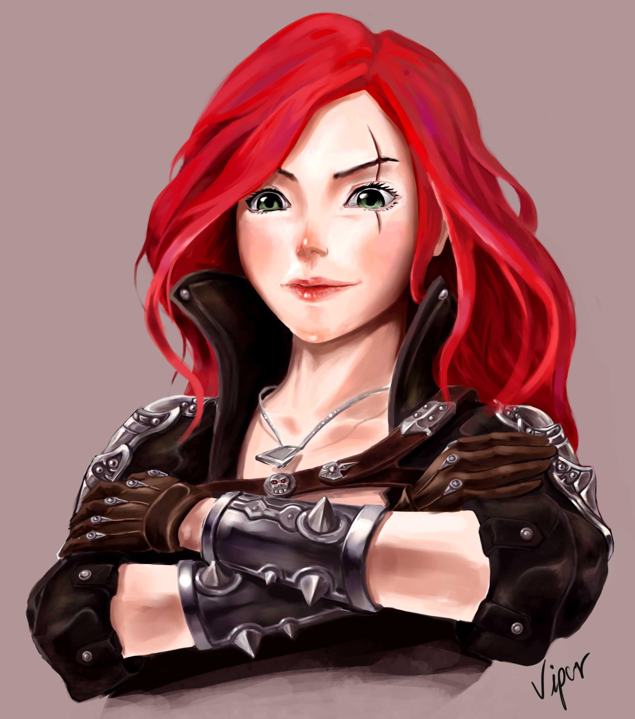 Katarina - League of Legends - Zerochan ...