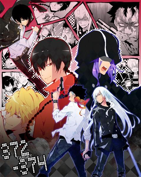 Tags: Anime, Danemaru, Katekyo Hitman REBORN!, Belphegor, Mammon, Fon, Dino Cavallone