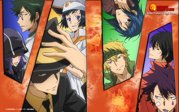 Tags: Anime, Katekyo Hitman REBORN!, Wallpaper, Mammon, Verde