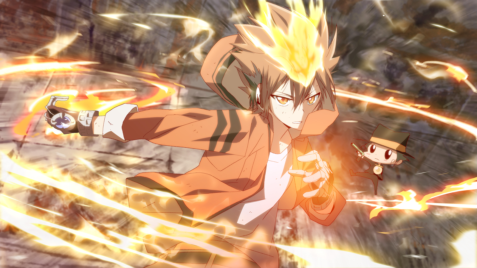 Katekyo hitman reborn wallpaper 1140012 zerochan anime image board view fullsize katekyo hitman reborn image voltagebd Gallery