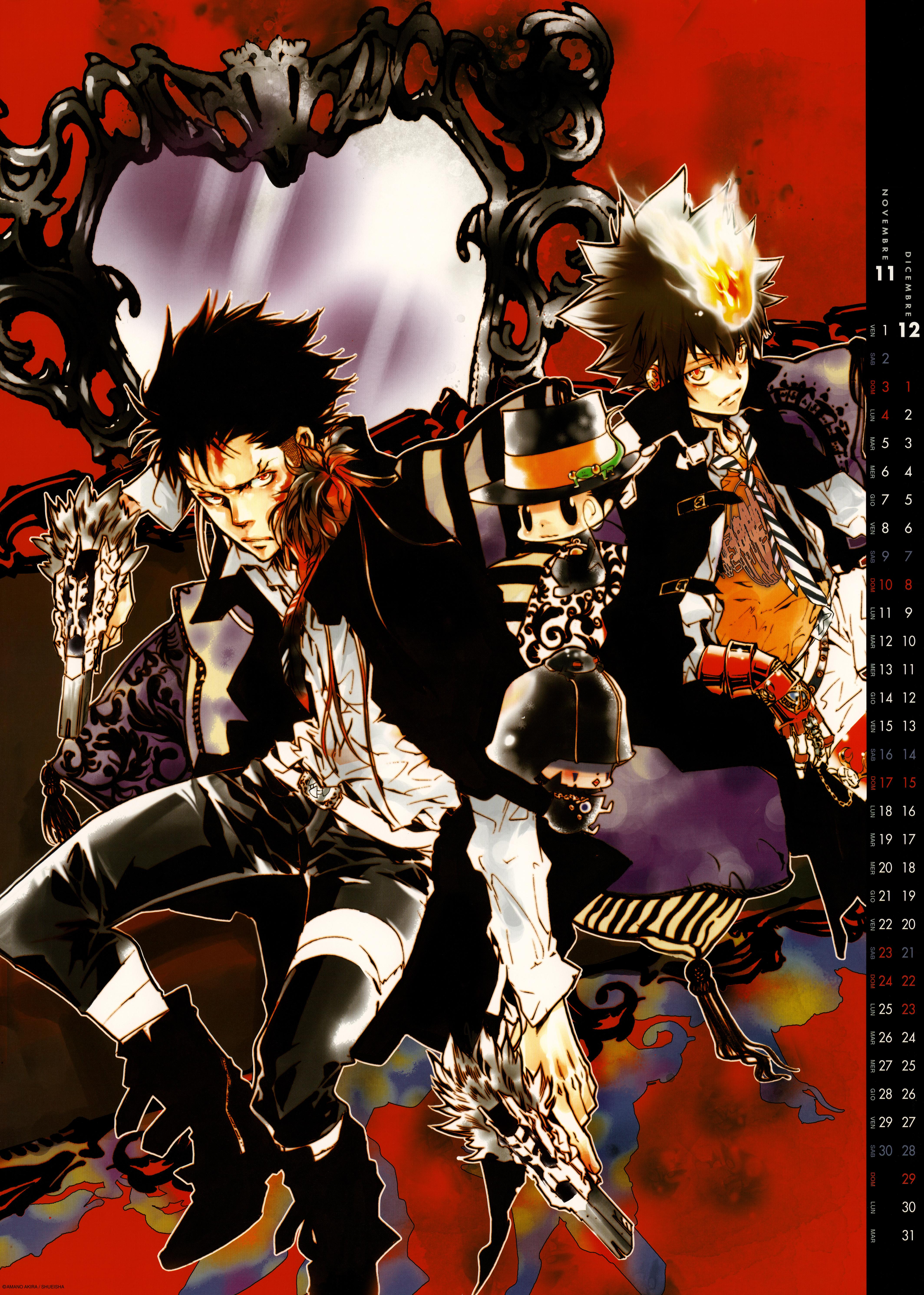 Katekyo Hitman Reborn Manga Cover Zerochan Anime Image Board