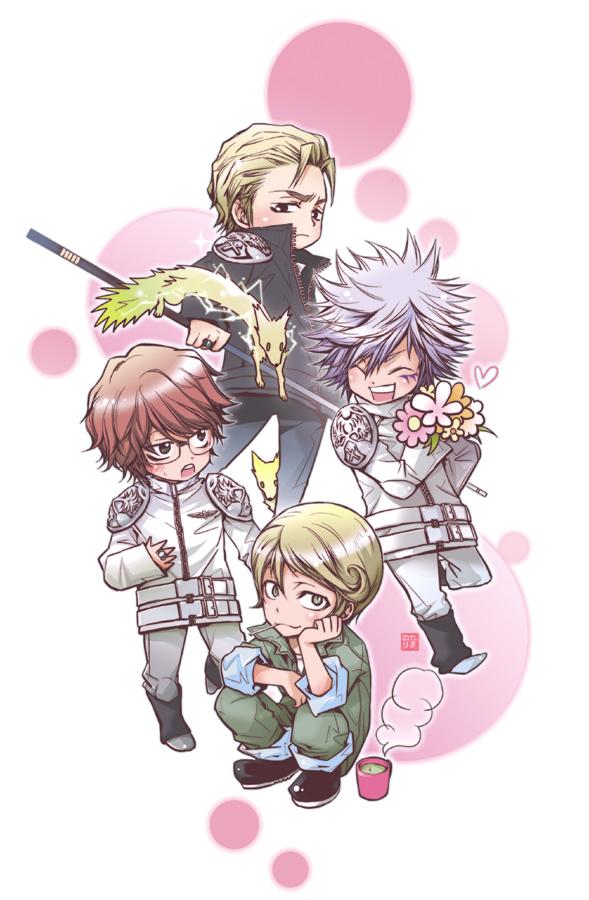 Tags: Anime, Katekyo Hitman REBORN!, Spanner, Gamma (Katekyo Hitman REBORN!), Irie Shouichi, Byakuran, Mafia, Mechanic, Millefiore, Lightning Guardian, Sky Guardian, Sun Guardian, Mare Ring
