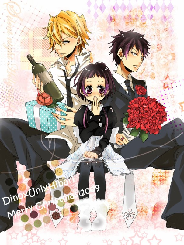 Tags: Anime, Katekyo Hitman REBORN!, Dino Cavallone, Hibari Kyoya, Yuni, deviantART