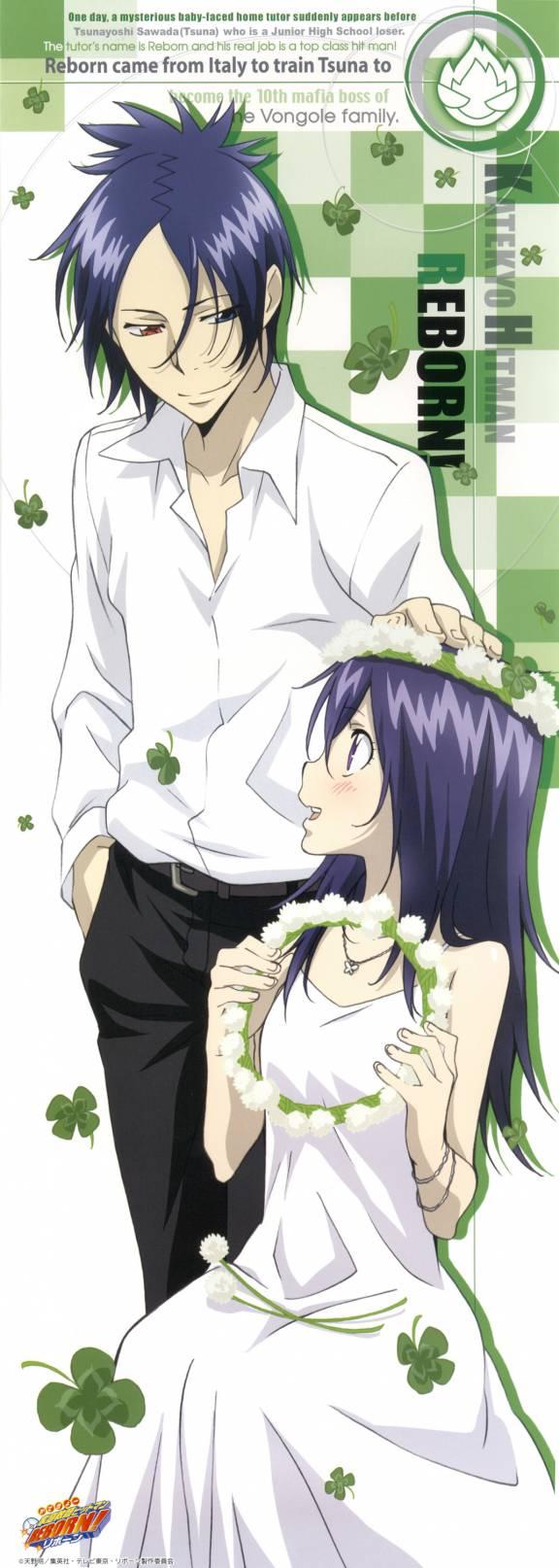 Tags: Anime, Katekyo Hitman REBORN!, Rokudou Mukuro, Gokudera Hayato, Chrome Dokuro