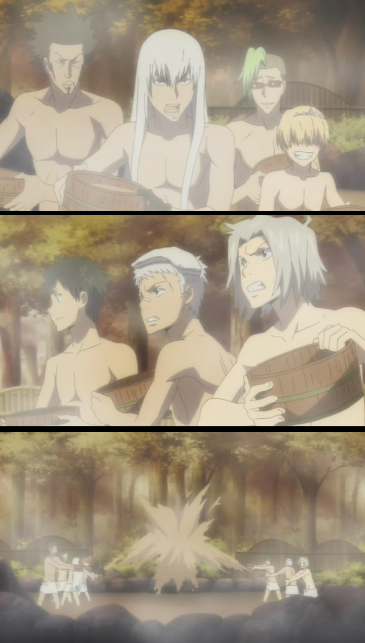 Hot Spring Bathing Zerochan Anime Image Board