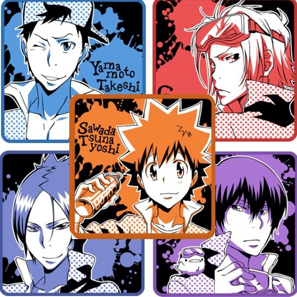 Tags: Anime, Katekyo Hitman REBORN!, Hibird, Rokudou Mukuro, Sawada Tsunayoshi, Gokudera Hayato, Yamamoto Takeshi, Hibari Kyoya