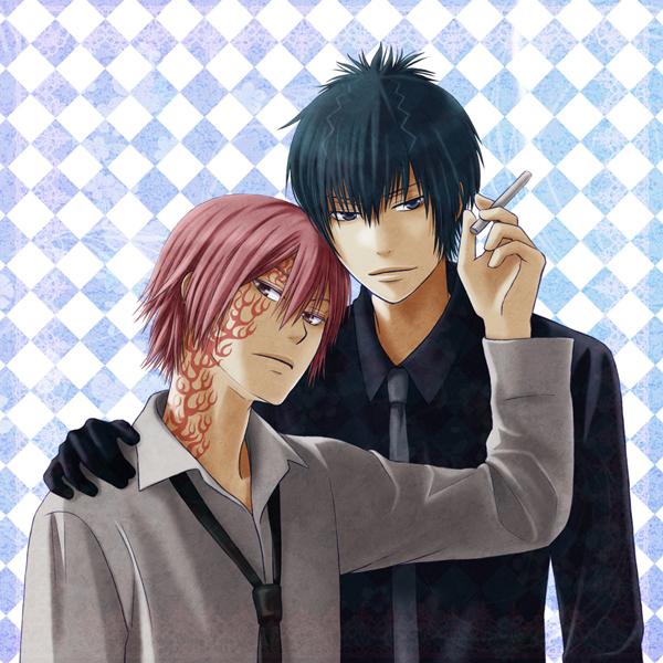 Tags: Anime, Harui (Pixiv1881408), Katekyo Hitman REBORN!, Demon Spade, G.