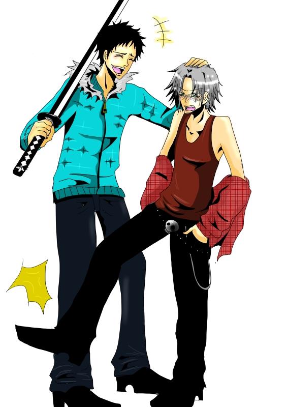 Tags: Anime, Katekyo Hitman REBORN!, Gokudera Hayato, Yamamoto Takeshi