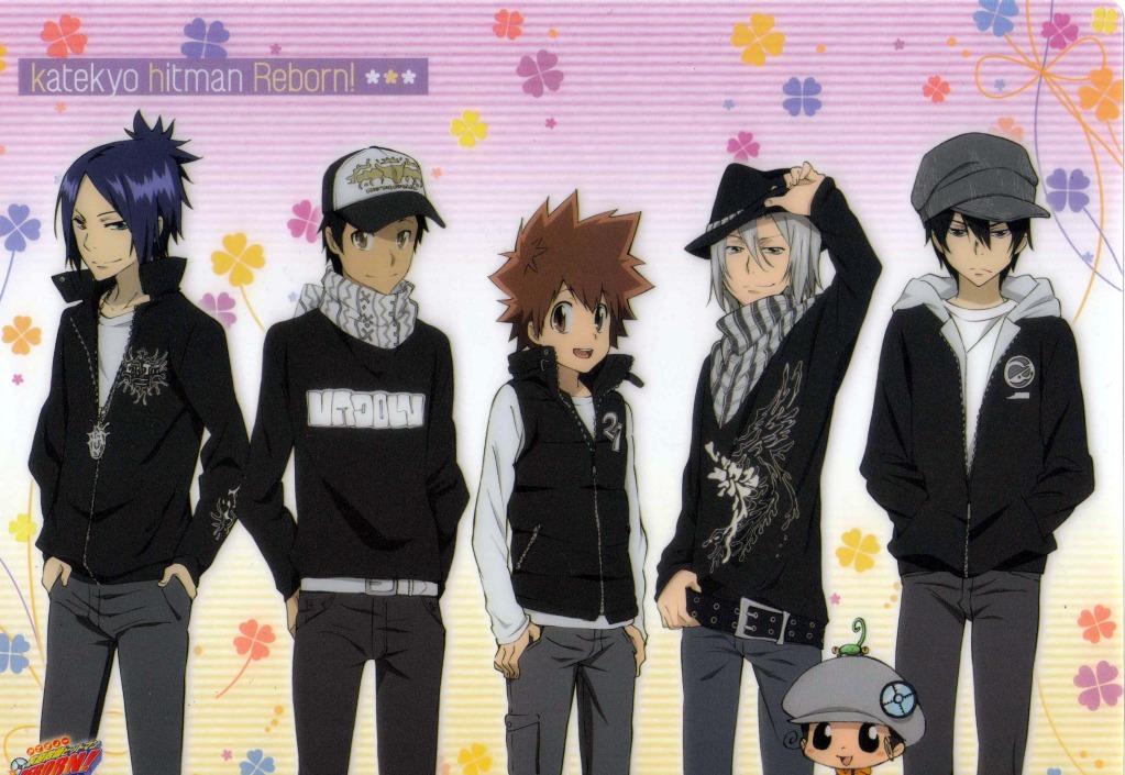 Anime Characters Jacket : Katekyo hitman reborn amano akira image