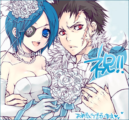Tags: Anime, Katekyo Hitman REBORN!, Xanxus, Chrome Dokuro, Artist Request