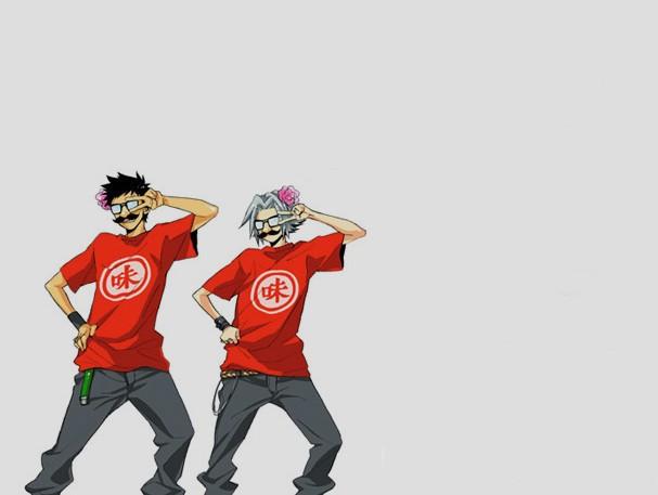 Tags: Anime, Katekyo Hitman REBORN!, Gokudera Hayato, Yamamoto Takeshi, Fanart, Artist Request, RADWIMPS