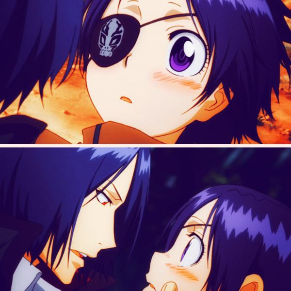 Tags: Anime, Tanaka Masayoshi, Katekyo Hitman REBORN!, Chrome Dokuro, Rokudou Mukuro, Pineapple Head, Screenshot, MukuChrome
