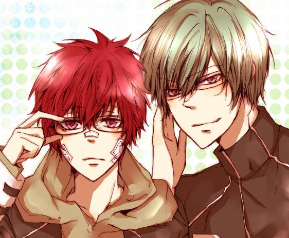 Tags: Anime, Pixiv ID 1621712, Katekyo Hitman REBORN!, Kozato Enma, Aoba Kouyou, Pixiv