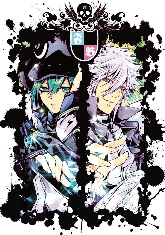 Tags: Anime, Pixiv Id 41089, Katekyo Hitman REBORN!, Fran, Byakuran, Mobile Wallpaper, Fanart, Pixiv