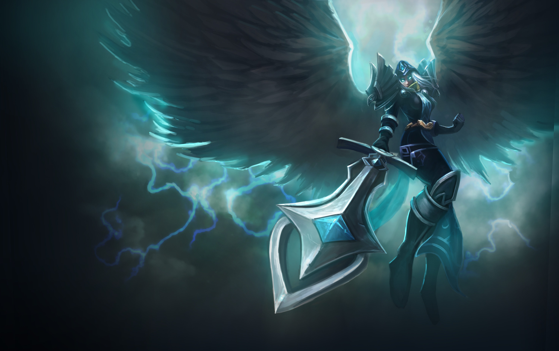 kayle league of legends image 2336186 zerochan anime image board