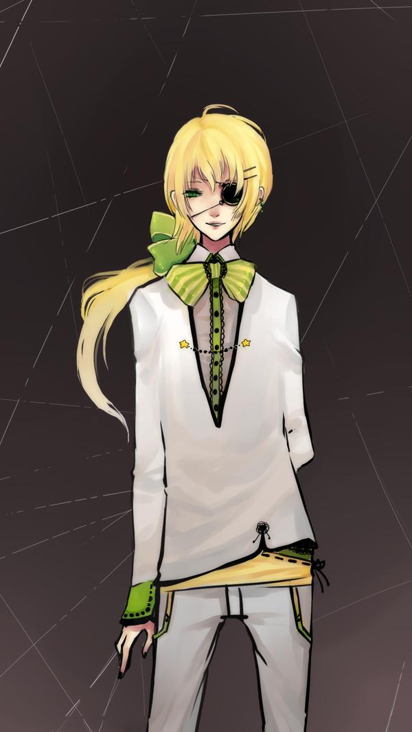 Tags: Anime, Kaytseki, Striped Ribbon, Original, PNG Conversion, deviantART, Mobile Wallpaper, Pixiv
