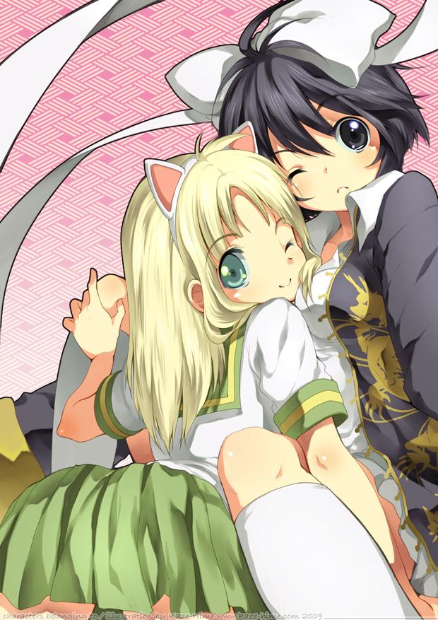 Tags: Anime, Kaze-hime, Pixiv