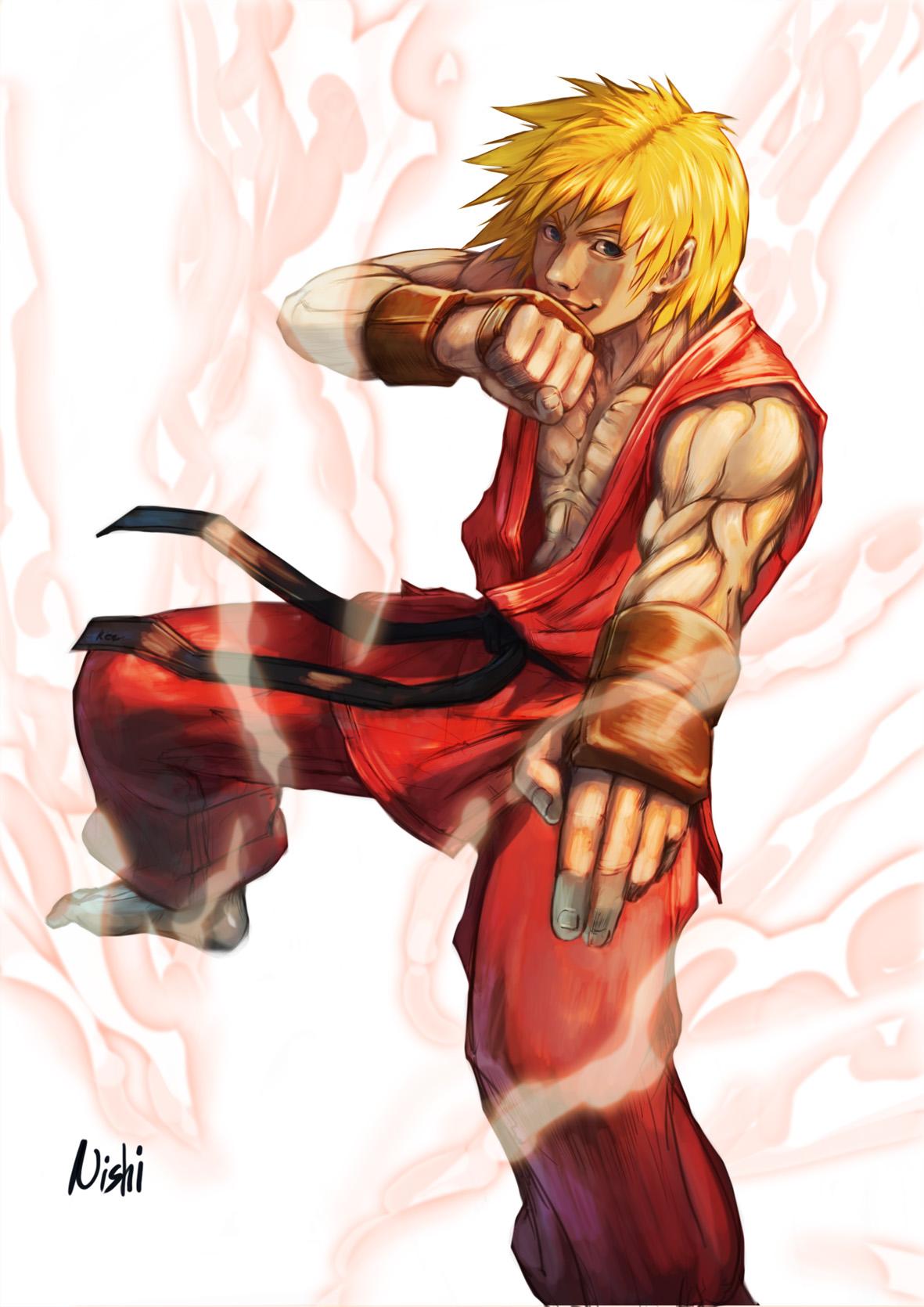 Ken Masters - Street Fighter - Zerochan Anime Image Board