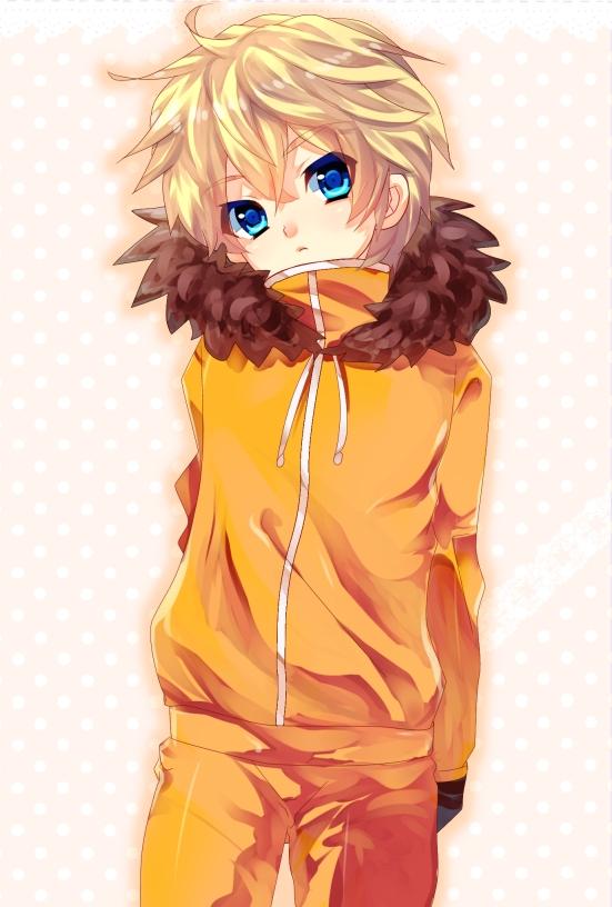 Tags: Anime, Riko (Kujira215), South Park, Kenneth McCormick, Mobile Wallpaper