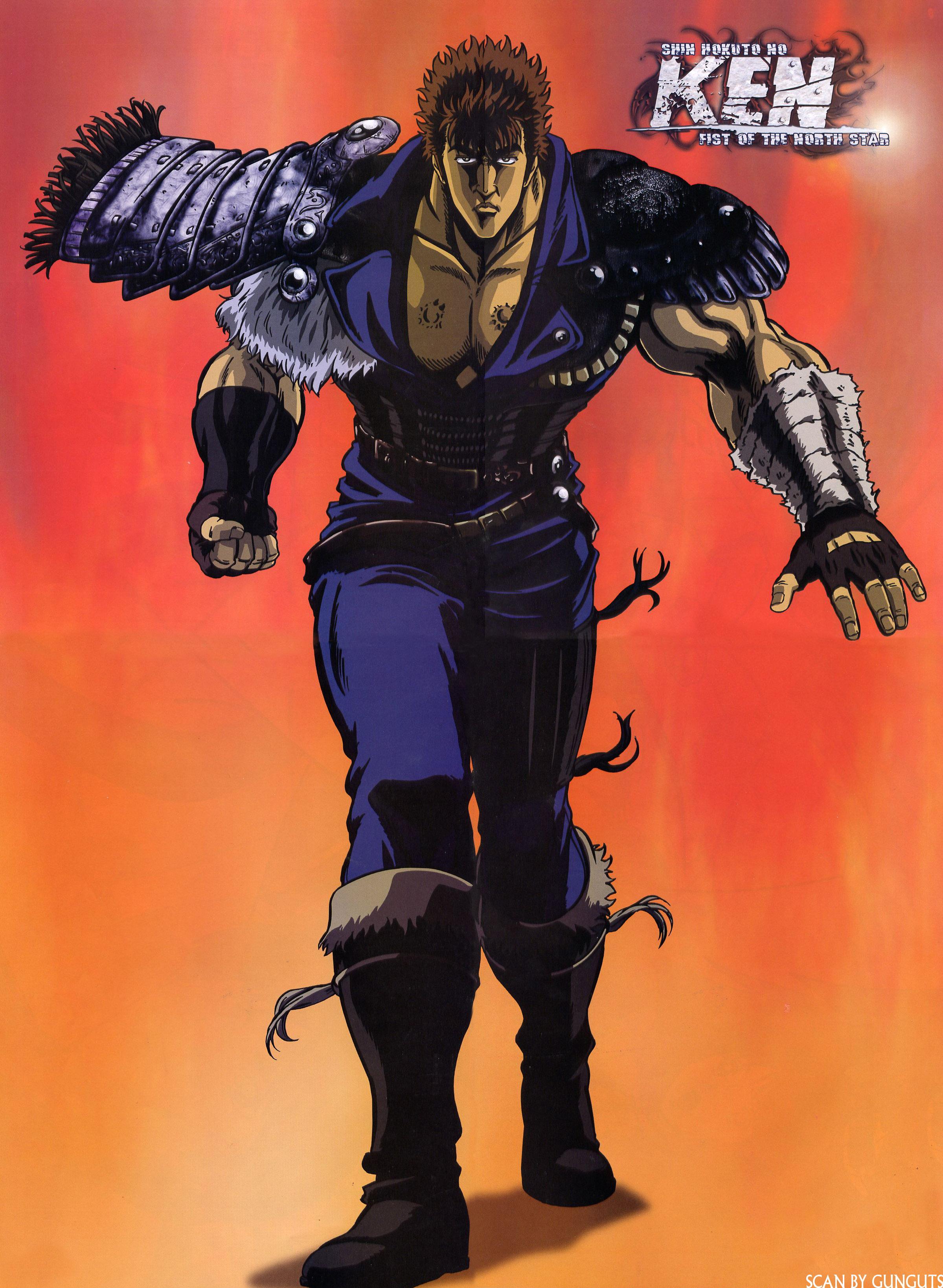 Kenshiro Hokuto No Ken Zerochan Anime Image Board