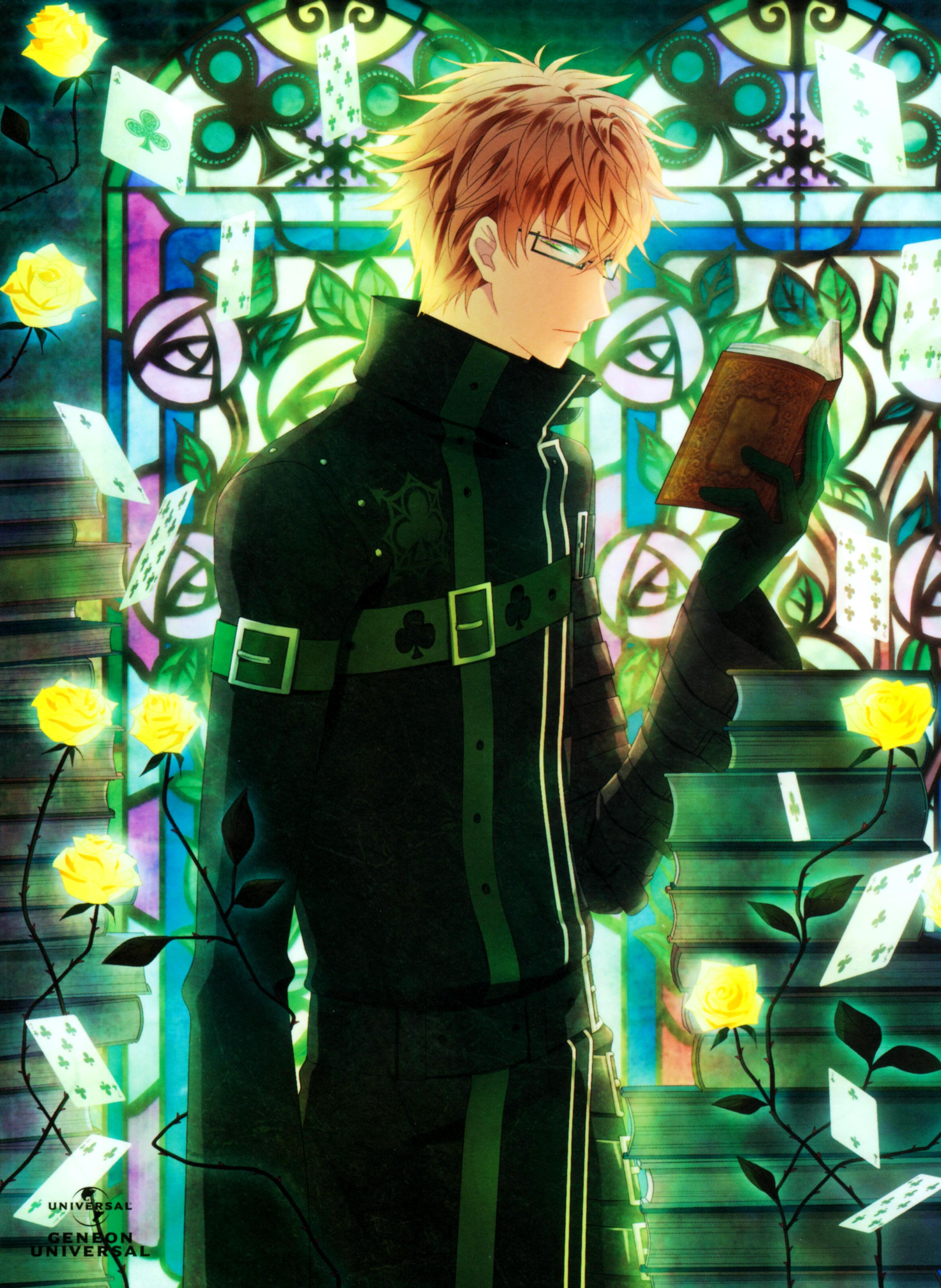 Картинки из аниме амнезия кент
