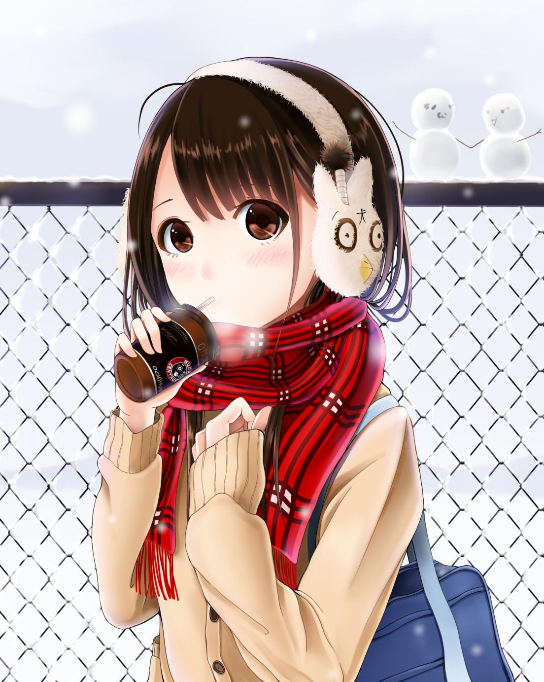 Смешные картинки девочек аниме, 1366 768