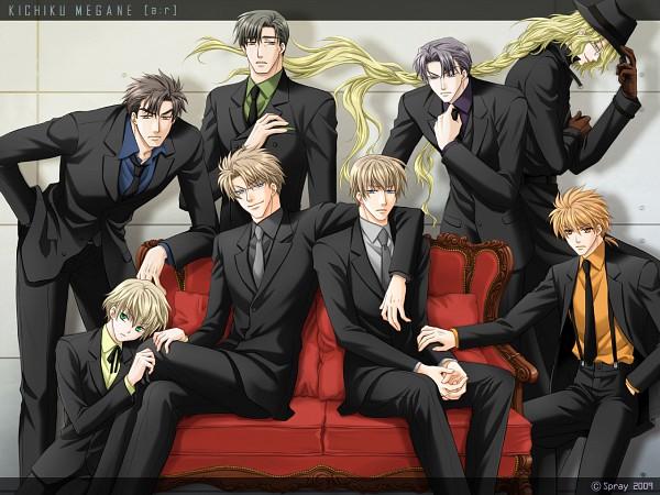 Tags: Anime, Spray, Kichiku Megane, Aki Suhara, Saeki Katsuya, Taichi Igarashi, Honda Kenji