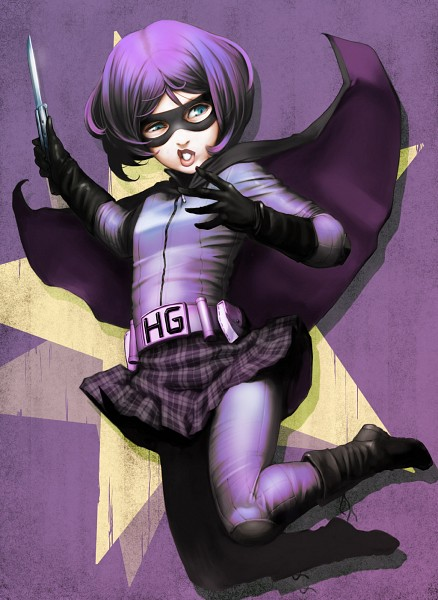 Tags: Anime, Hit Girl, Kick Ass, Ataruman