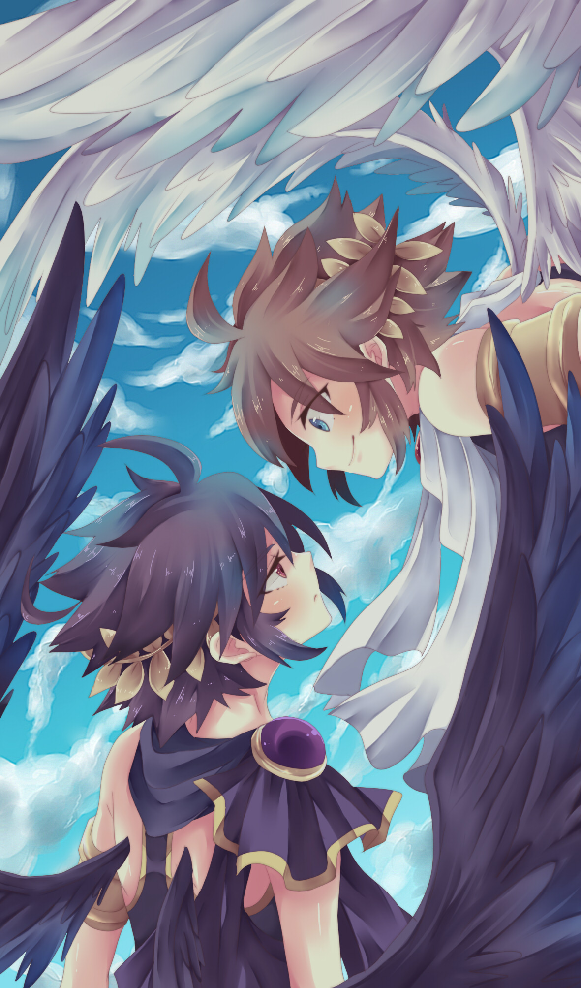 Kid Icarus Mobile Wallpaper