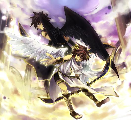 Kid Icarus Anime Dark Pit
