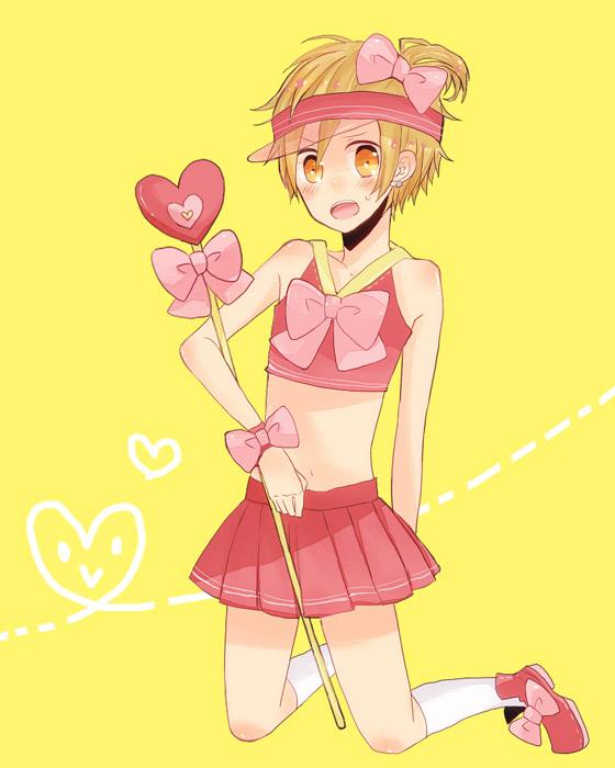 Tags: Anime, DURARARA!!, Ran (Shugo Chara!), Kida Masaomi, Shugo Chara! (Cosplay), Hinamori Amu (Cosplay)