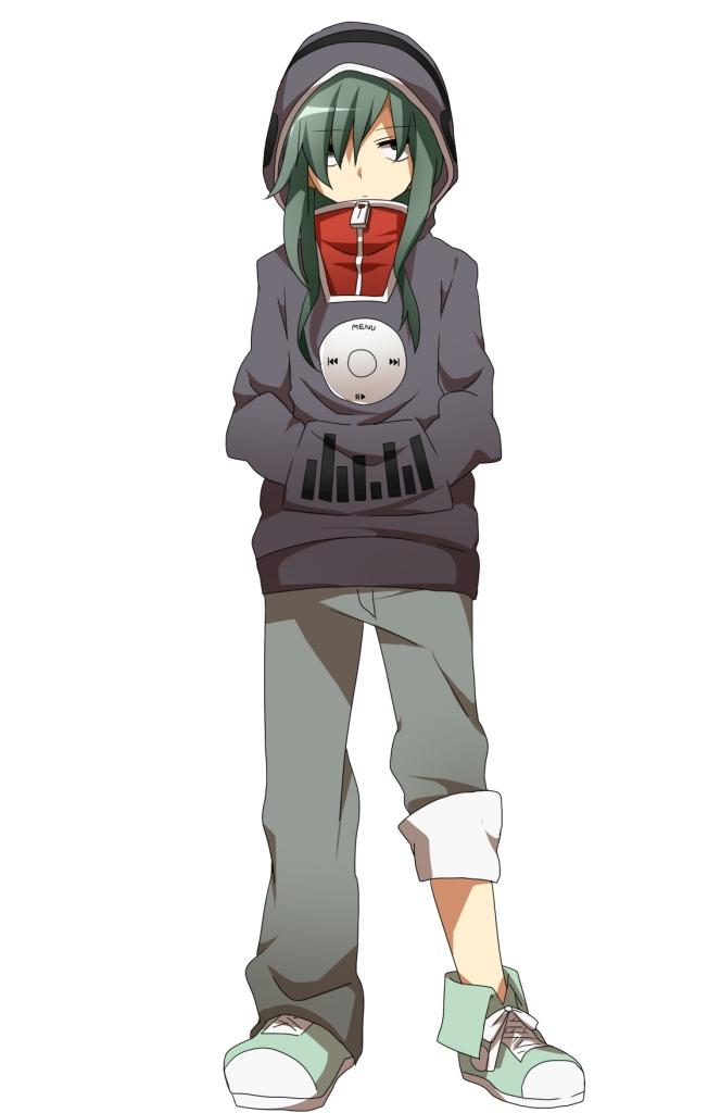 Tags: Anime, Ichinose Yukino, Kagerou Project, Kido Tsubomi, Rolled Up Pants, Mobile Wallpaper, Pixiv