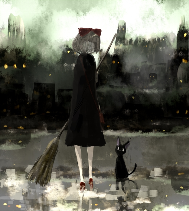 Tags: Anime, 36 (Artist), Majo no Takkyuubin, Kiki (Majo no Takkyuubin), Fanart, Fanart From Pixiv, Pixiv