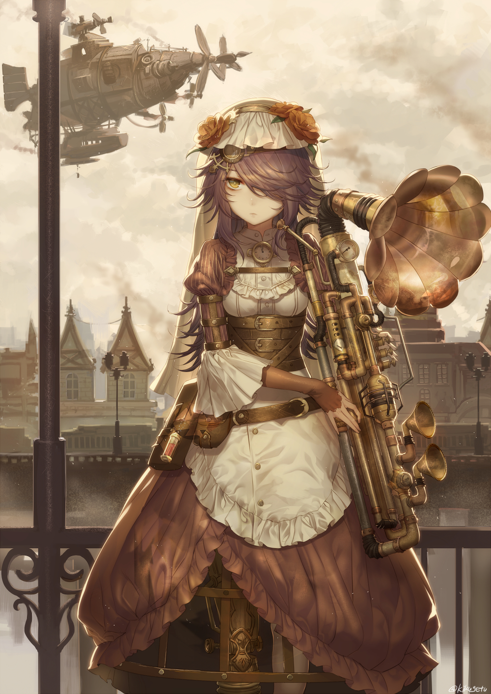 wallpapers steampunk girl eyes - photo #30