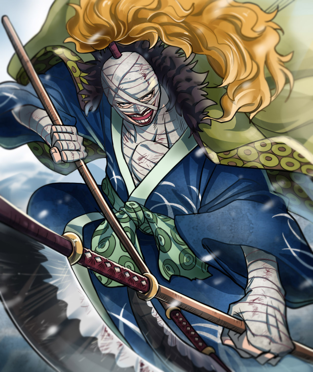 One Piece Wano Kuni Wallpaper Hd