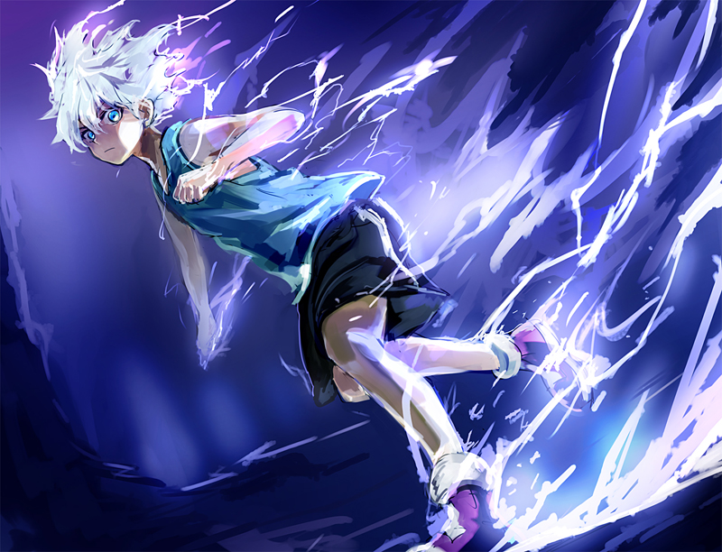 Killua Zoldyck Hunter X Hunter Zerochan Anime Image Board