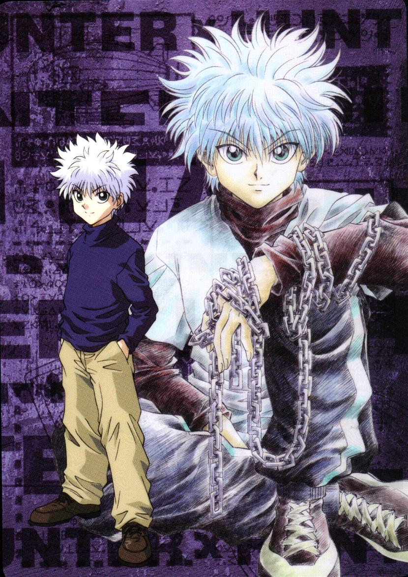 Anime Wallpaper Hunter X Hunter Killua