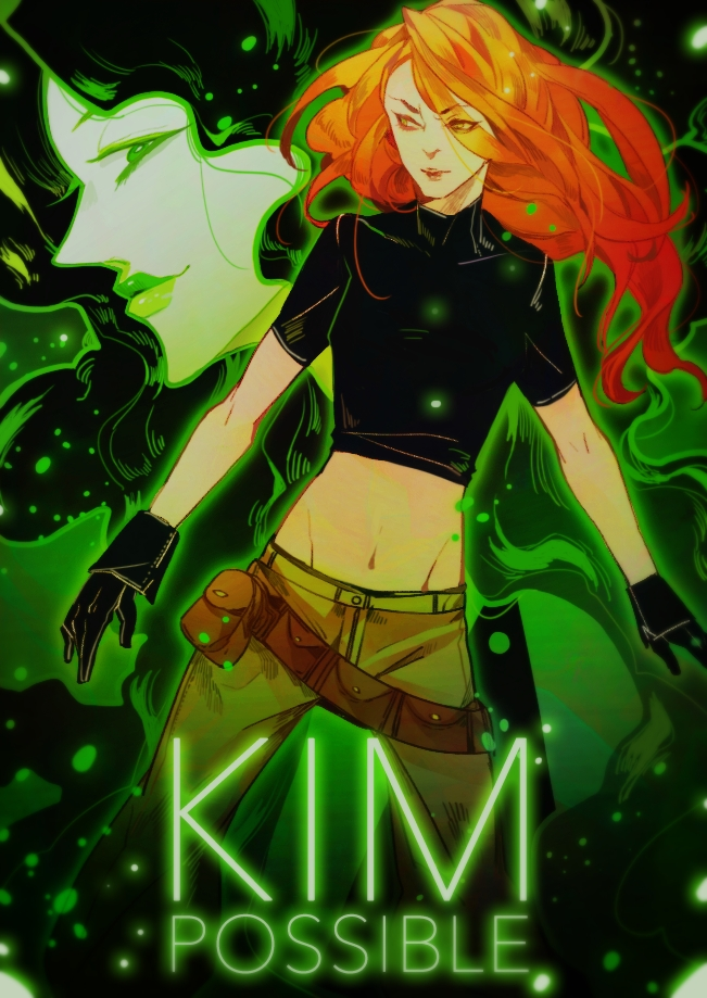 Kim Possible Mobile Wallpaper 1529521 Zerochan Anime Image Board