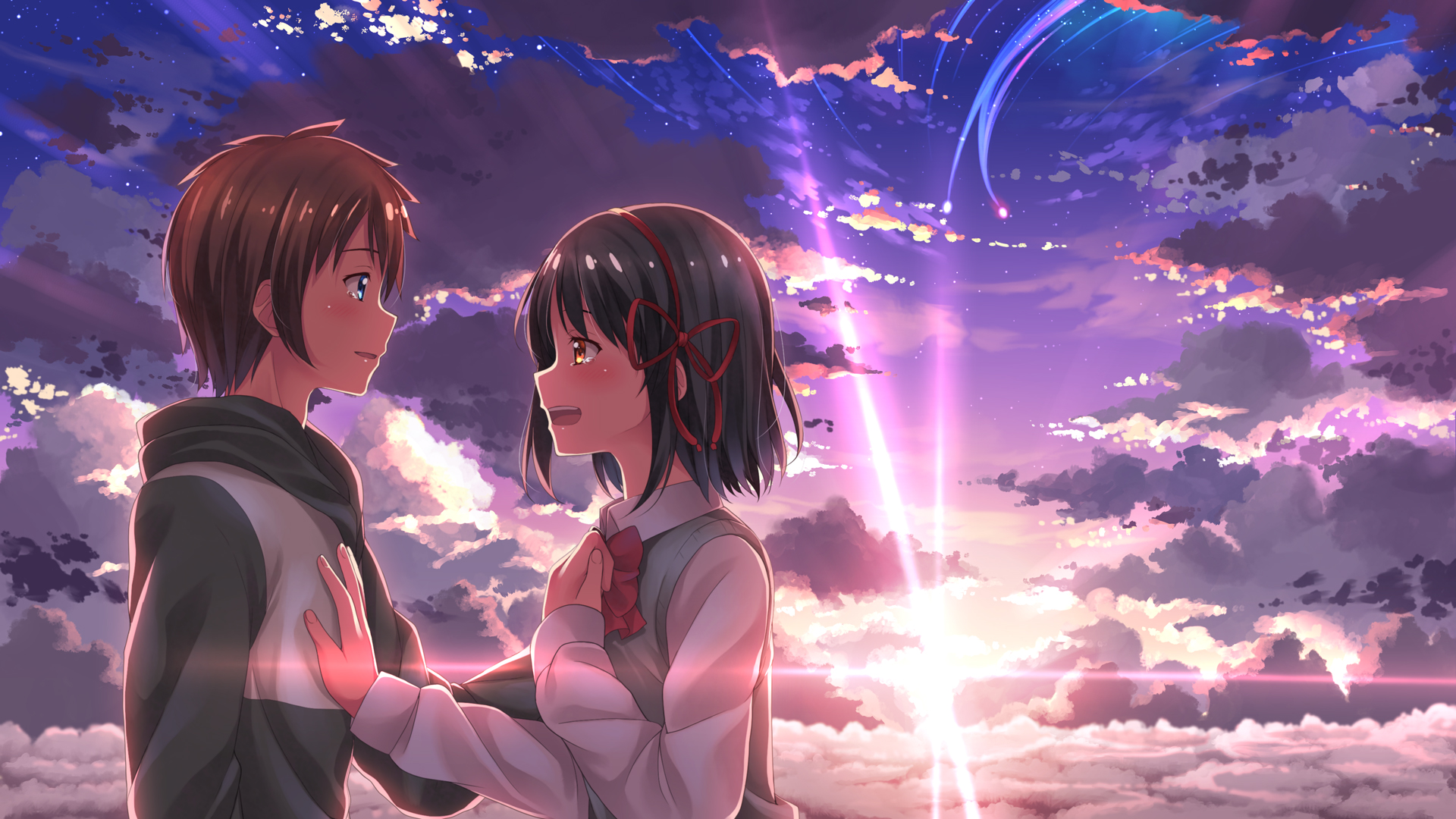 Kimi No Na Wa Your Name Hd Wallpaper 2037245 Zerochan Anime