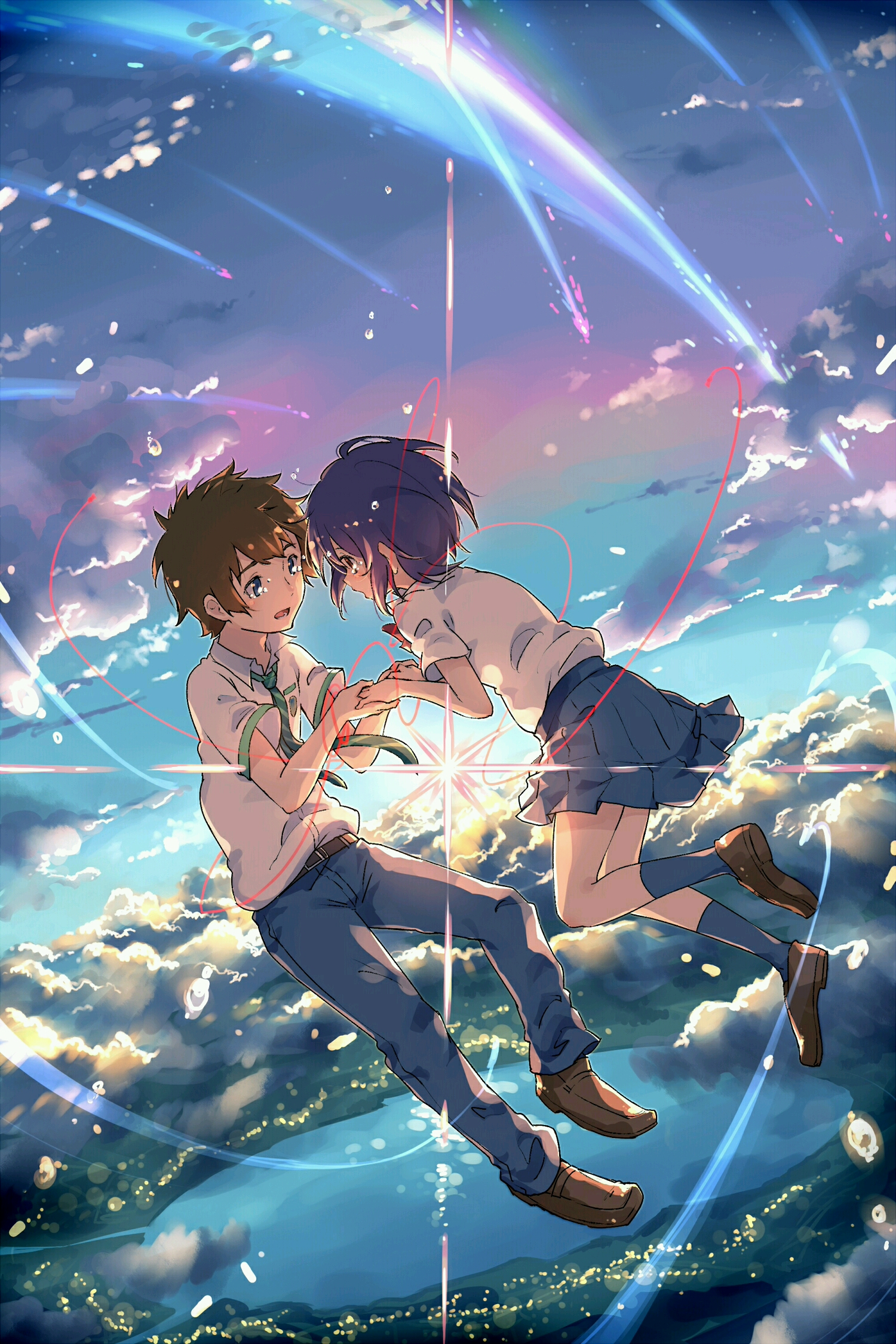 Kimi No Na Wa Your Name Mobile Wallpaper Zerochan Anime