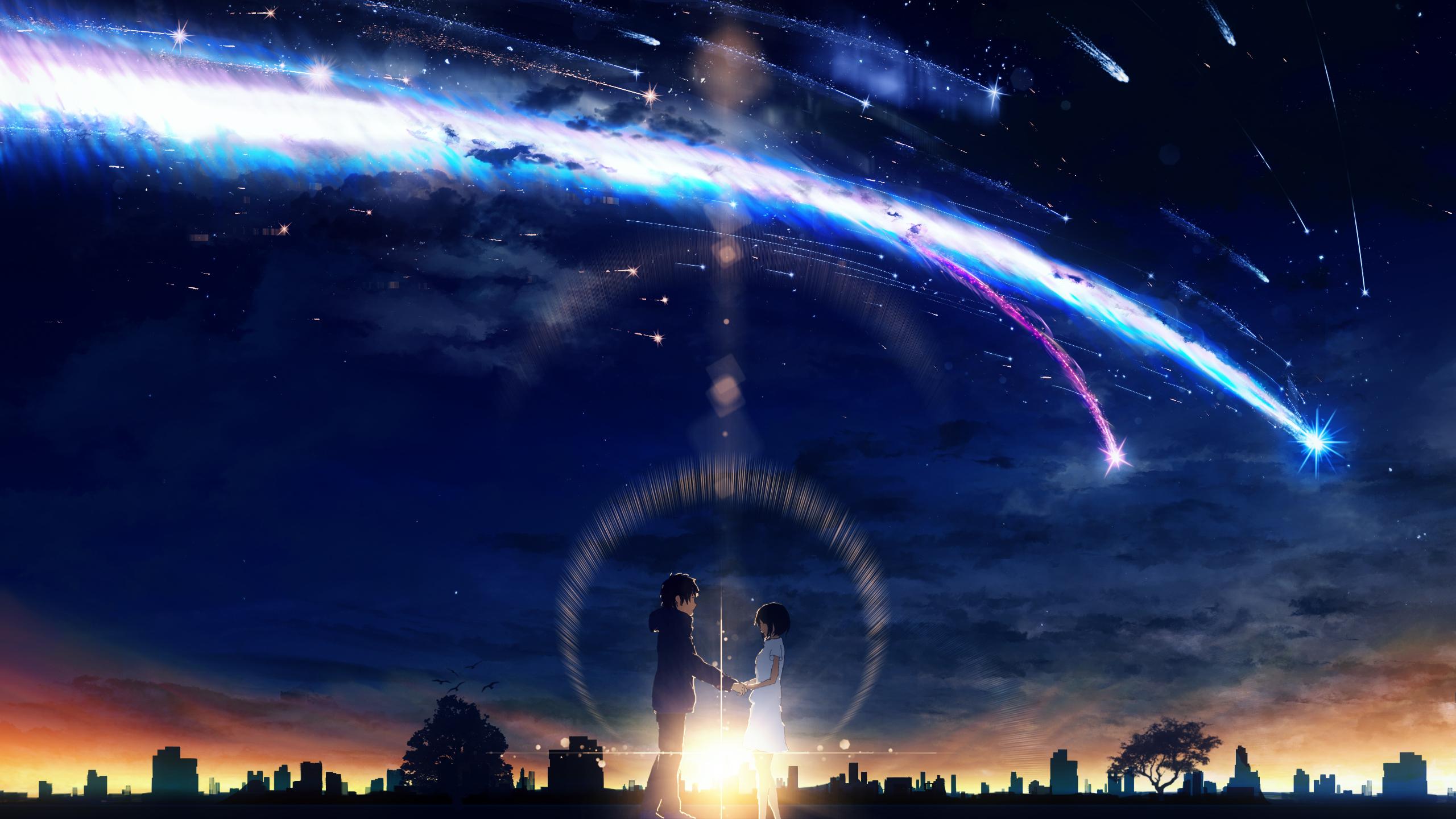 your name wallpaper  Kimi no Na wa. (Your Name.) Wallpaper #2237875 - Zerochan Anime ...
