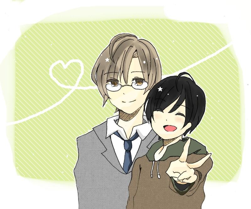 Image result for kimi to boku manga akira and azuma