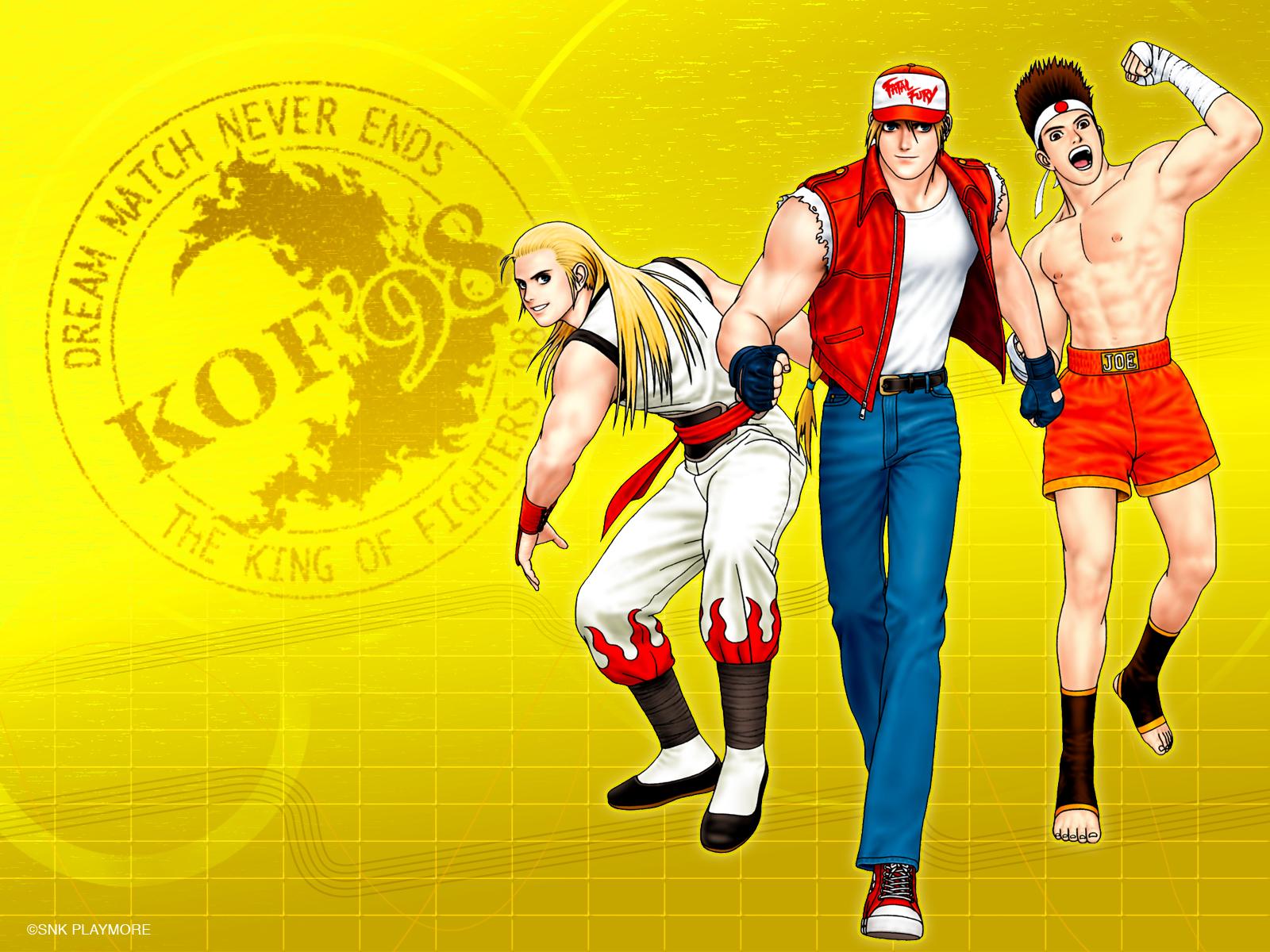 King Of Fighters Wallpaper 899976 Zerochan Anime Image Board