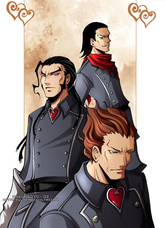 Tags: Anime, Maevachan, Kingdom Hearts: Birth by Sleep, Aeleus, Dilan, Braig, deviantART