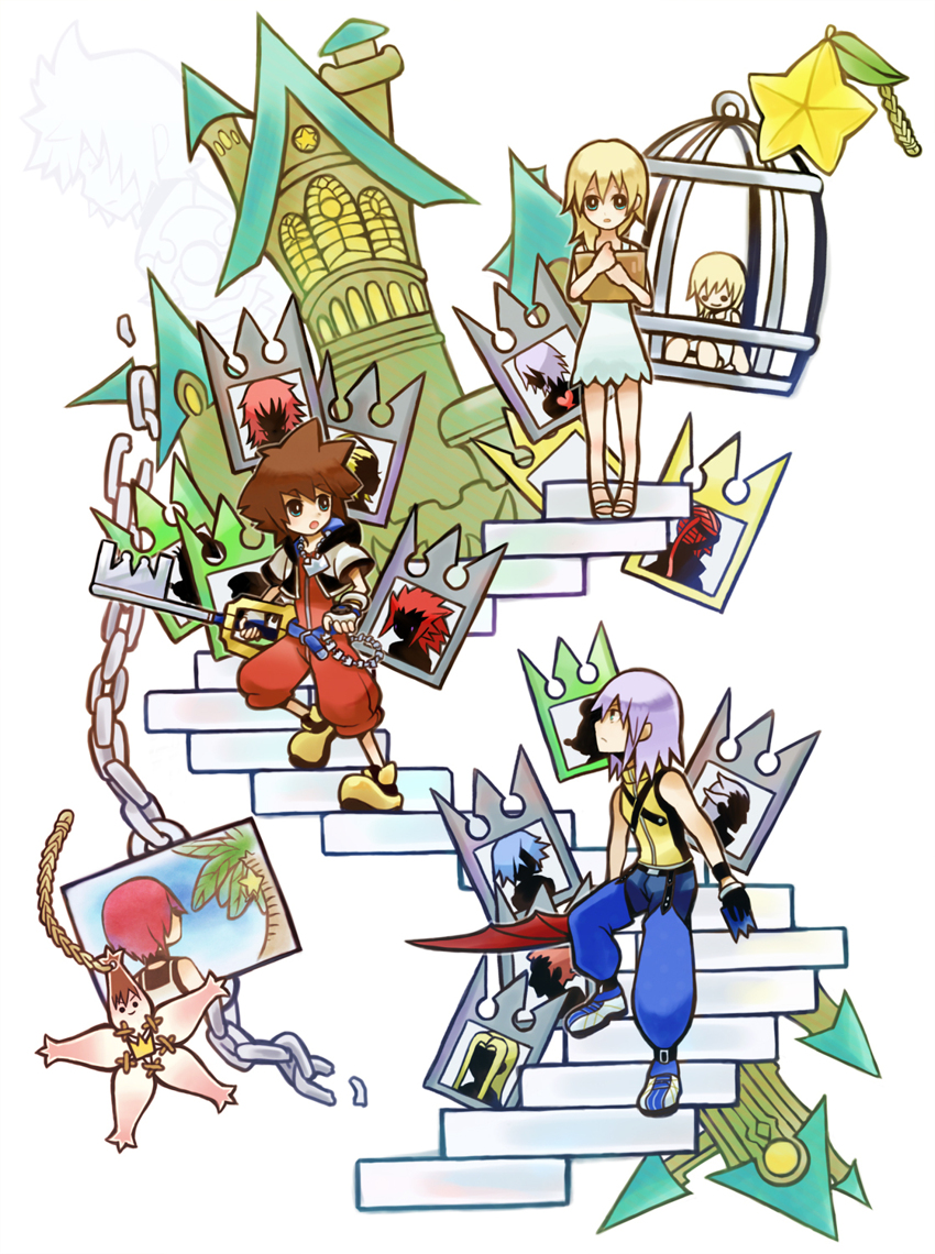 Kingdom Hearts Chain Of Memories Zerochan Anime Image Board