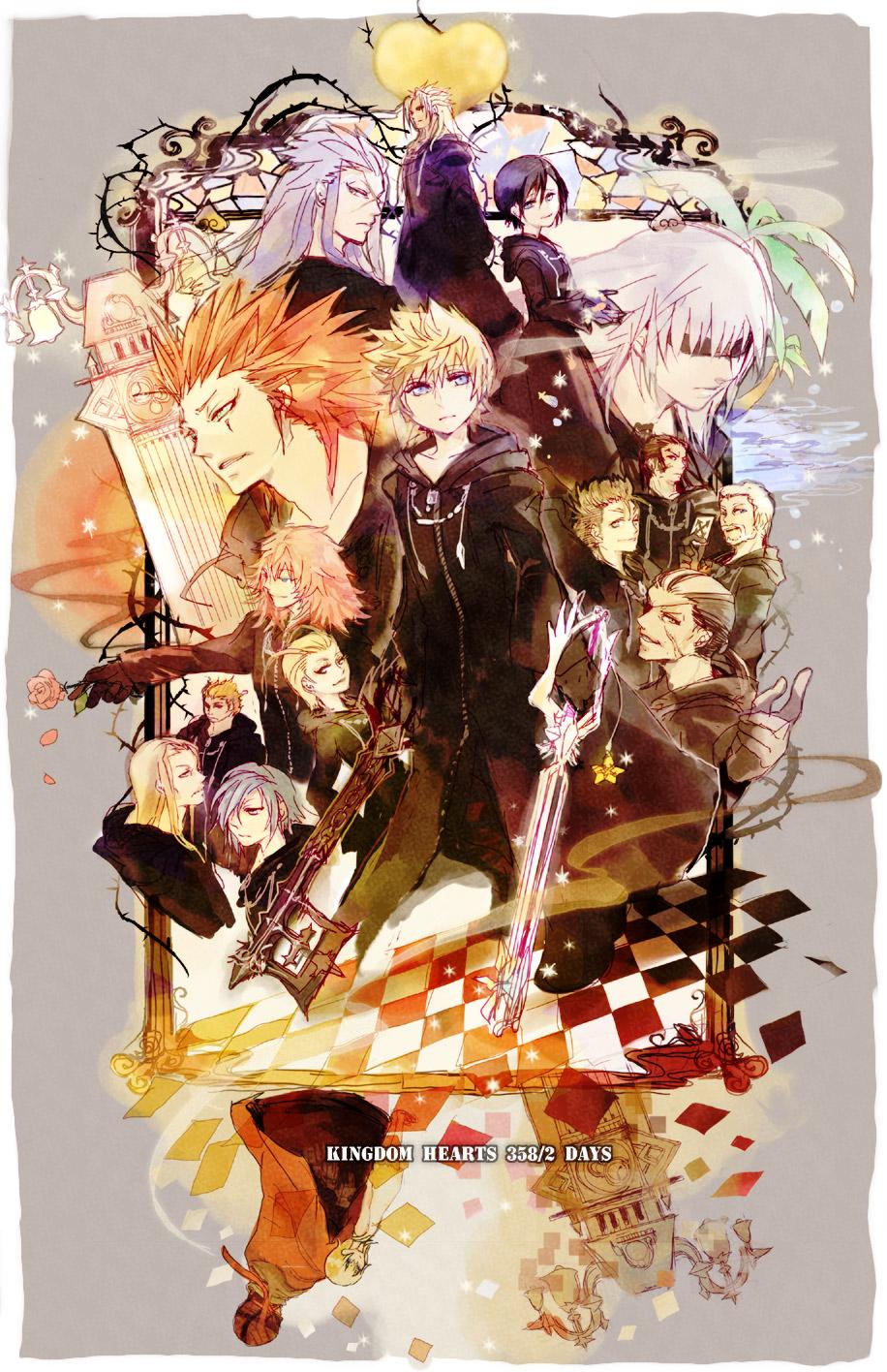 Larxene, mobile wallpaper zerochan anime image board.