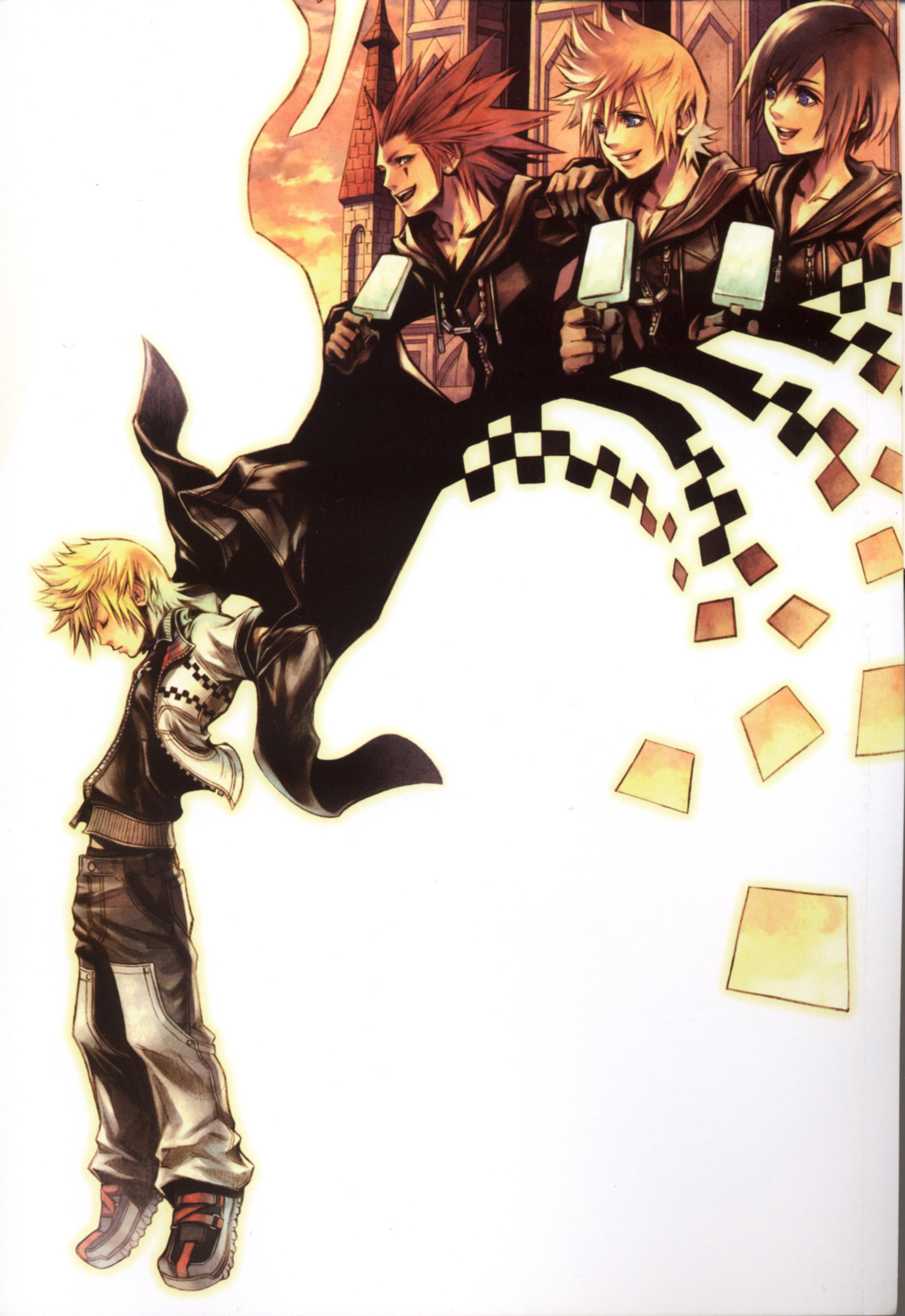Kingdom Hearts Mobile Wallpaper Zerochan Anime Image Board